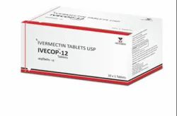 Ivecop-12 Ivermectin 12mg Tablets, 10 Tablets