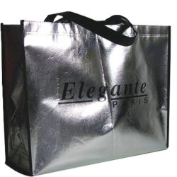 Loop Handle Printed Laminated Non Woven Shopping Bag