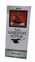 Shilpachem Tail Aabehyat Activa Pain Reliever, 60ml, Packaging Type: Bottle