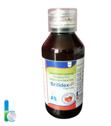 BRILLDEX-P SF (SUGAR FREE) Cough Syrup, 100 ml
