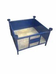 Blue MS Storage Basket