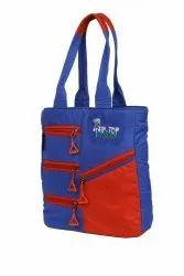 Ladies Blue Shoulder Bag, For Casual Wear, 300 G
