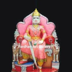 Marble Agarsane Statue, For Worship, Size: 1-12 Feet