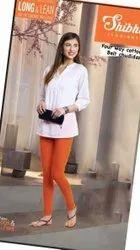 Ladies Fourway Cotton Belt Churidar Legging, Size: XXL