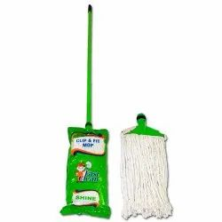 Iron Cotton Shine Green Clip And Fit Mop