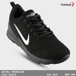 Running Shoes Poddar Men''S Sport Shoe, Size: 6*10, Model No: KOHLI-6