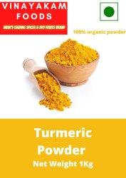 1 Kg Natural Turmeric Powder, For Cooking