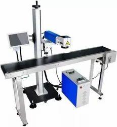 Industrial On-Line / Off-Line 30W Smart Flying CO2 Laser Printer Model SLP-C30C (9.3um)