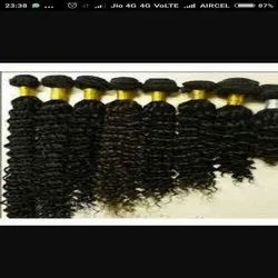 Curly Black Indian Human Hair For Women And Girls Cheveux Meche