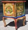 Wooden Opium Chest Of Drawer