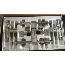 Stainless Steel Double Door Kit 2mm & 3mm, Grade: 202, 10