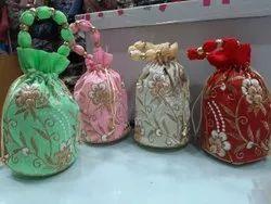 Embroidery Potli Bags
