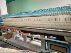 Used Multi Head Quilting And Embroidery Machine