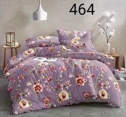 Status Double Bed Floral Printed Bedsheet