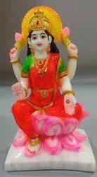 Multicolor Polyresin Laxmi Mata Statue