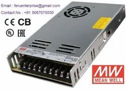 24VDC 15A Meanwell SMPS Power Supply