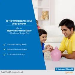 6.15- 11.70% Annual Retruns Children Insurance Plans Service, Age Limit: 1 Months Plus, Eendowment