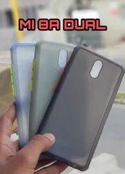 Plastic Redmi Mobile Back Cover