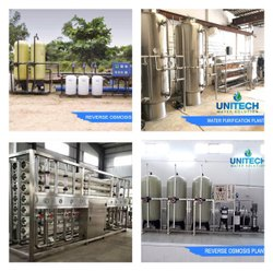 6000 LPH Drinking Mineral Water Plant