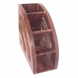 Wooden Remote Stand, Size/Dimension: 5x5inch