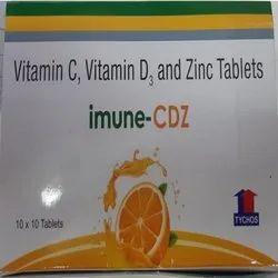 Vitamin C, Vitamin D and Zinc Tablets 500 Mg