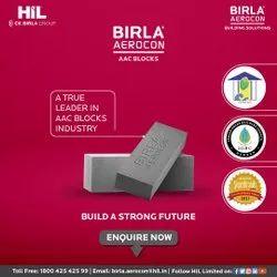 Rectangular Birla Aerocon Concrete Solid Block