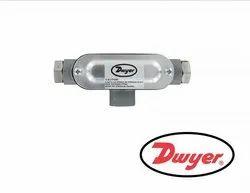 Dwyer 629C-04-CH-P2-E5-S1 Wet Differential Pressure Transmitter Range 50 PSID