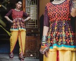 Elite Cotton Navratri Kedia Dhoti, Waist Size: 42