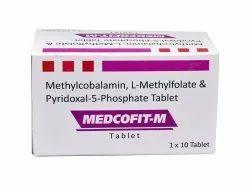 Methlycobalamin L-Methyl Folate P5P Tablets