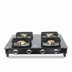 Four Burner Gas Stove With Safety Device