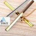 Stainless Steel Rose Gold T Patti Profiles