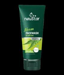 Herbal Neustar Neem Facewash For Anti Acne, Gel, Packaging Size: 100ml