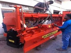 Cultivation Kuber Rotavator 8'' with Seed Drill Model KUBER SD849, For Agriculture