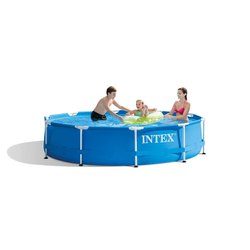 Fiberglass 10ft round metal frame pool, For buile