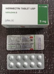 Iverjohn-3 Ivermectin 3mg Tablets