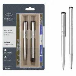 Parker Vector Stainless Steel Ball Pen