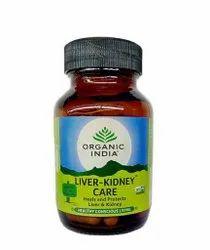 Organic India Liver Kidney Care 60 Capsules