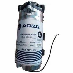 AQ&Q RO Diaphragm Booster Pump 125 PSI