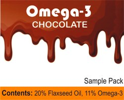 Omega-3 Chocolate Vegan 25g