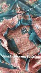 Vastra Ladies Designer Printed Suit