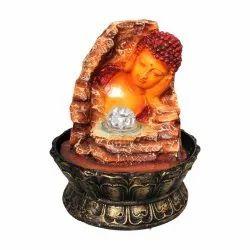 Buddha Face Indoor Decorative Water Fountain