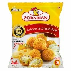 Chicken N Cheese Balls, Packaging Type: Packet, Packaging Size: 250g
