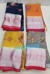 Printed Organza Fabric