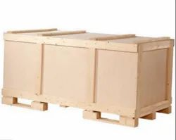 Rectangular Industrial Wooden Packaging Box, Size(LXWXH)(Inches): 60 X 50 X 40inch