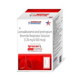 Levosalbutamol And Ipratropium Bromide Respirator Solution