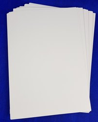 White Poly Coated Paper, For Printing, GSM: 40 GSM