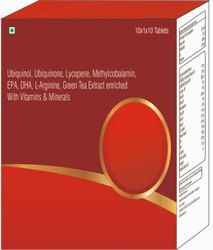 Ubiquinol, Ubiquinone, Enriched With Vitamins & Minerals Tablets
