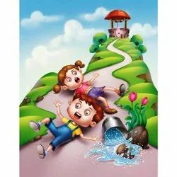 3D Wall Cartoon Painting Services