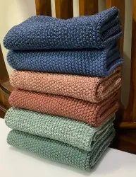 Organic Cotton Knitted Kitchen Napkins