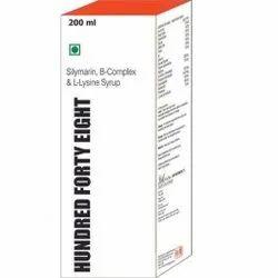 Silymarin B-Complex & L-Lysine Syrup